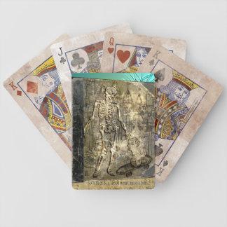 Tan un Skel y un principal… (Naipes) Cartas De Juego