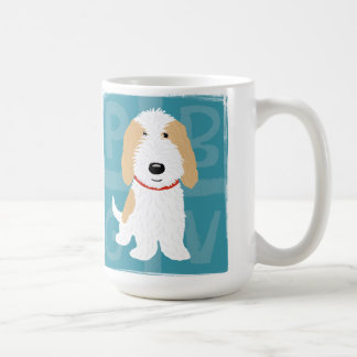 Tan & White PBGV Coffee Mug
