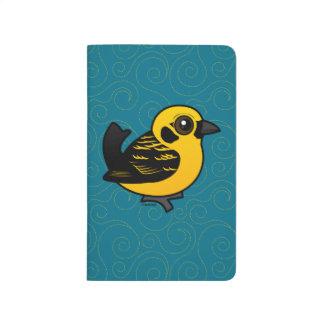 Tanager de oro de Birdorable Cuadernos Grapados