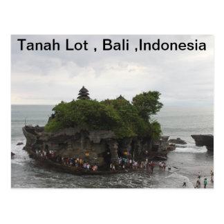 Tanah Lot, Bali, Indonesia Postcard