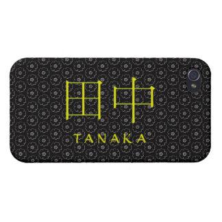 Tanaka Monogram iPhone 4 Covers