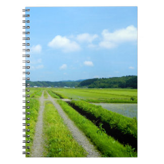Tanbo Road Spiral Notebooks