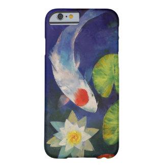 Tancho Koi y lirio de agua Funda De iPhone 6 Slim