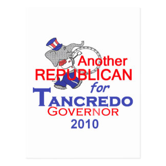 TANCREDO 2010 Postcard