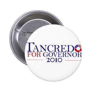 Tancredo 2010 Principle Over Party Pinback Button