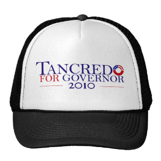 Tancredo 2010 Principle Over Party Trucker Hat