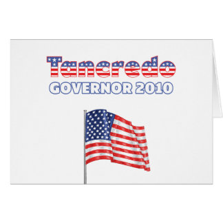 Tancredo Patriotic American Flag 2010 Elections Card