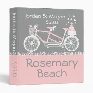 Tandem Bicycle JordanMegan 3 Ring Binder