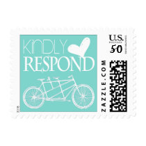 Tandem Bicycle | Kindly Respond Postage