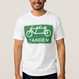Tandem Bicycle Sign Shirt