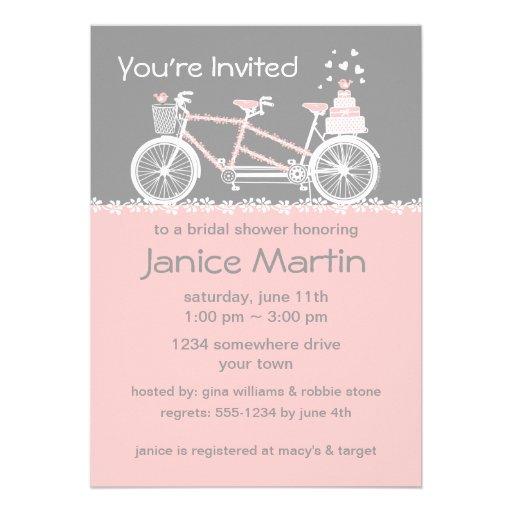 Bridal shower invitations bridal shower invitations zazzle for Best bridal shower invitations