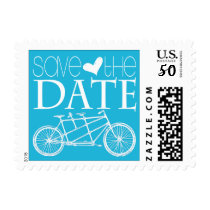 Tandem Bicycles | Save the Date Postage