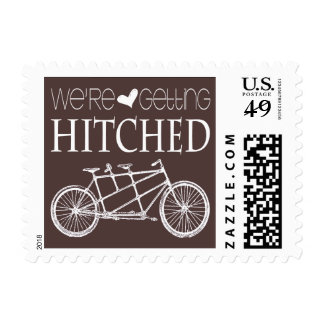 Tandem Bicycles   We're Getting Hitched Postage