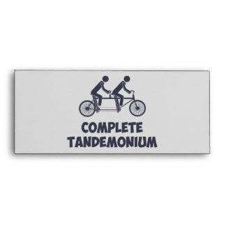 Tandem Bike Complete Tandemonium Envelopes