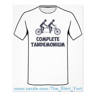 Tandem Bike Complete Tandemonium Custom Flyer