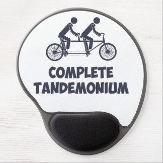 Tandem Bike Complete Tandemonium Gel Mouse Pad