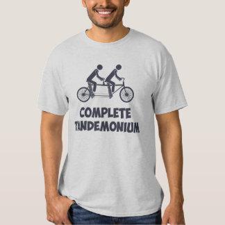 Tandem Bike Complete Tandemonium T Shirt