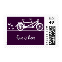 Tandem Bike Love Stamp
