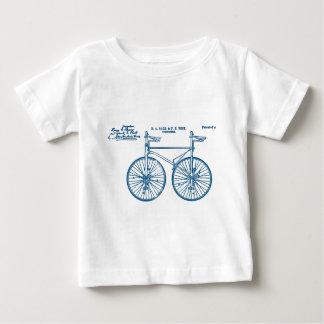 Tandem Bike Velocipede 1891 Peck Baby T-Shirt
