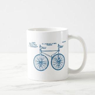 Tandem Bike Velocipede 1891 Peck Coffee Mug
