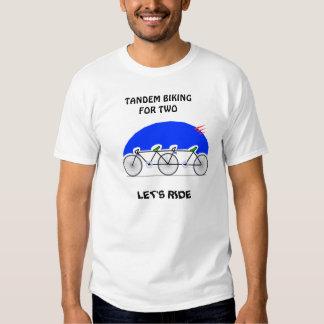 Tandem Biking T Shirt