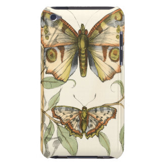 Tandem Butterflies Over Green Leaves Case-Mate iPod Touch Case