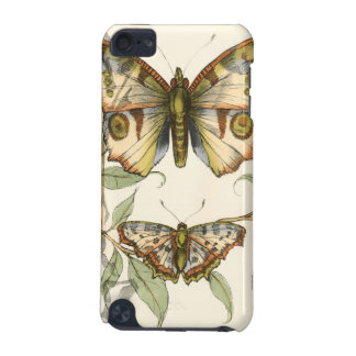 Tandem Butterflies Over Green Leaves iPod Touch 5G Cover