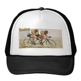 Tandem Cycling gifts for Tandem Bicycle Riders Trucker Hat