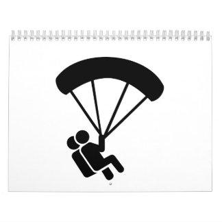 Tándem de Skydiving Calendario