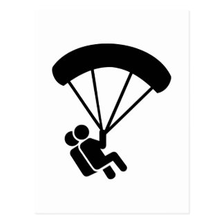 Tándem de Skydiving Postales