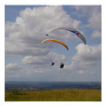 Tandem Gliding Posters