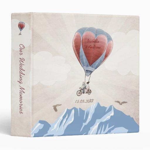 Tandem Love Dream Wedding Photo Album Binder