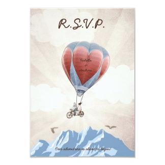 TANDEM LOVE DREAM Wedding RSVP Invitation