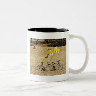 Tandem Snakes Two-Tone Coffee Mug