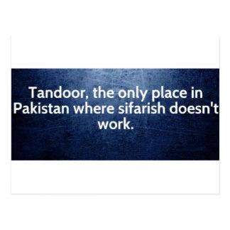 tandoor postcard