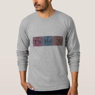 Tandy as Tantalum Neodymium Yttrium T-Shirt