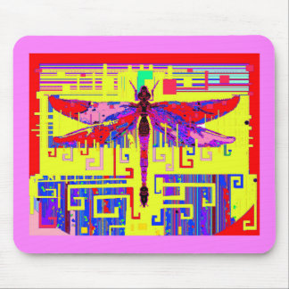 Tang Dragonfly Art Gifts by Sharles Mouse Pads