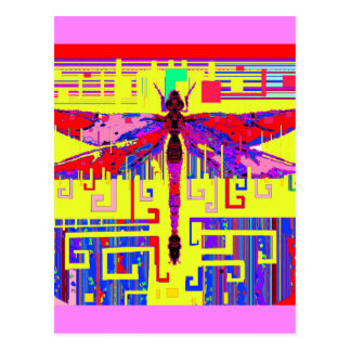 Tang Dragonfly Art Gifts by Sharles Postcards