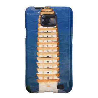 Tang Dynasty Tower in Yunnan, Dali Samsung Galaxy SII Case