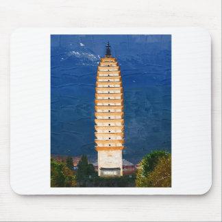 Tang Dynasty Tower in Yunnan, Dali Mouse Pad