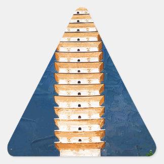 Tang Dynasty Tower in Yunnan, Dali Triangle Sticker