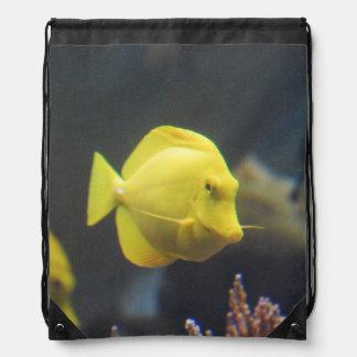 Tang Fish Drawstring Bag