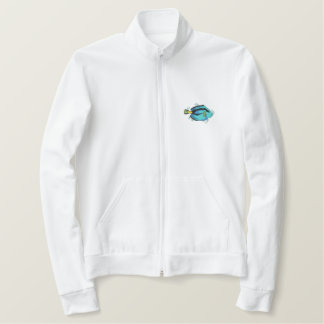 Tang Fish Embroidered Jacket