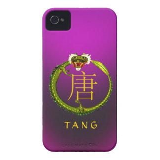 Tang Monogram Dragon iPhone 4 Cover