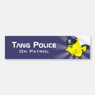 Tang Police Bumper Sticker