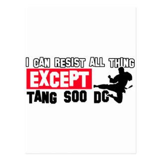 Tang so do martial design postcard