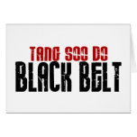 Tang Soo Do Black Belt Karate Card