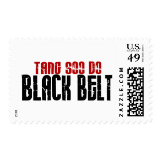Tang Soo Do Black Belt Karate Stamps