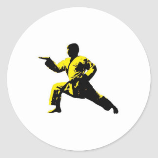 Tang Soo Do Classic Round Sticker