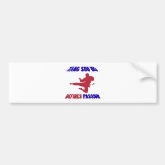 Tang Soo Do Design Bumper Sticker